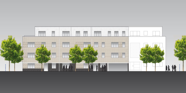 Neubau von vier Mehrfamilienhäuser auf einer Tiefgarage – ME ...